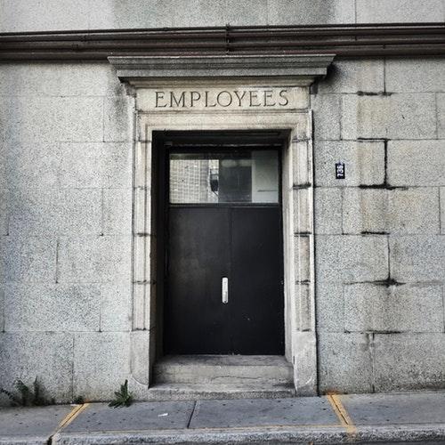 employee enterance